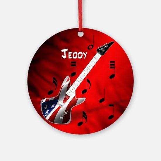 Jeddy Ornament (Round)