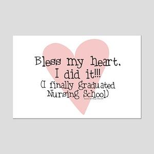 Bless the New Nurse Mini Poster Print