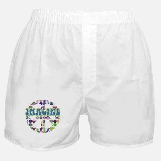 Imagine World Peace Boxer Shorts
