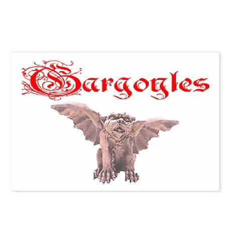 Gargoyle Postcards (Package of 8)