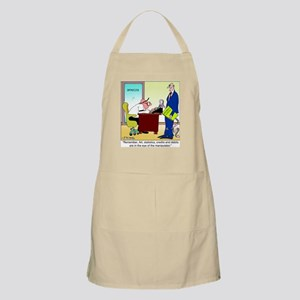 In the Eye of the Manipulator BBQ Apron
