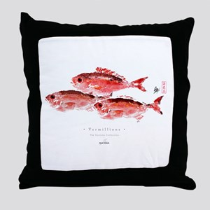 Vermillion Snapper - Throw Pillow