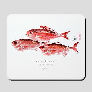 Vermillion Snapper - Mousepad