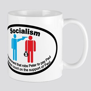 "Socialism ""Robs Peter To Pay Paul"" Mug"