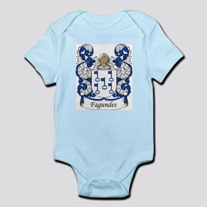 Fagundes Family Crest Infant Creeper