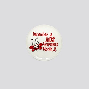 AIDS Awareness Month 4.3 Mini Button