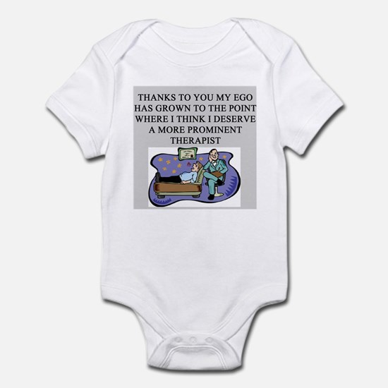 funny psychology psychiatrist Infant Bodysuit