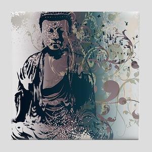 Pretty Buddha Tile Coaster