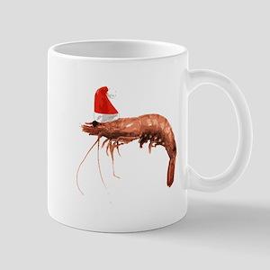 Christmas Shrimp Mug