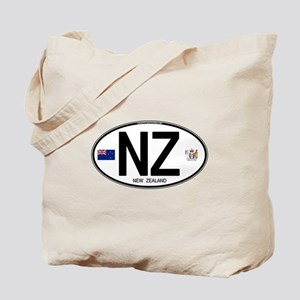 New Zealand Euro Oval Tote Bag