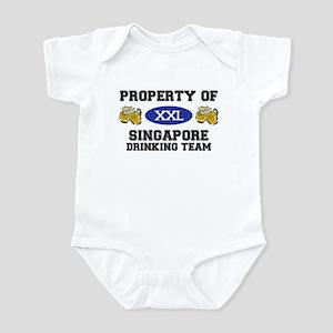 Property of Singapore Drinking Team Infant Bodysui