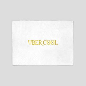ubercool1 5'x7'Area Rug