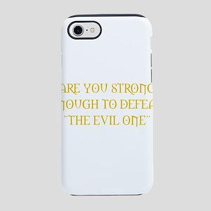 defeatevil1 iPhone 8/7 Tough Case