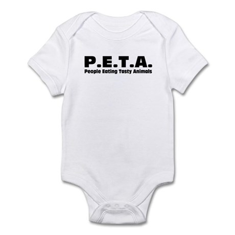 P.E.T.A.- People Eating Tasty Animals. Infant Body