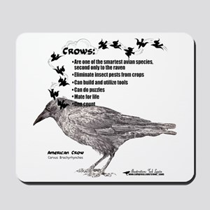 American Crow Mousepad