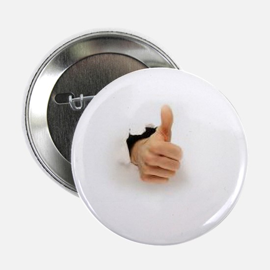 """thumb out and up 2.25"""" Button"""