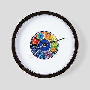 world religion Wall Clock