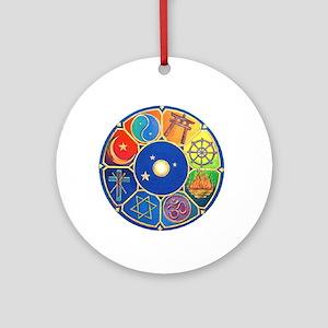 world religion Ornament (Round)