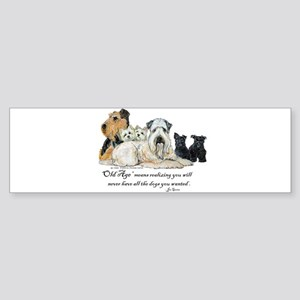 Love Dogs Sticker (Bumper)