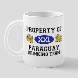 Property of Paraguay Drinking Team Mug