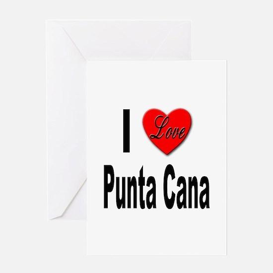 I Love Punta Cana Greeting Card