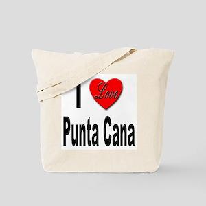 I Love Punta Cana Tote Bag