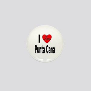 I Love Punta Cana Mini Button