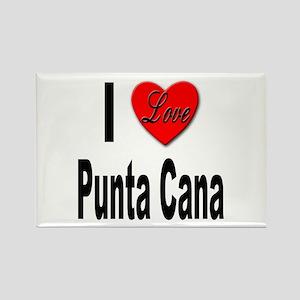 I Love Punta Cana Rectangle Magnet