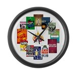 Large New Line Poster Wall Clock