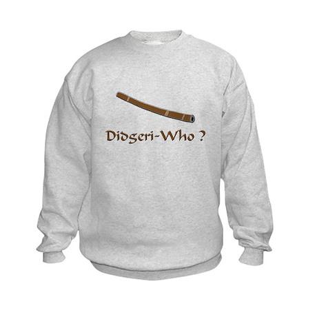 Funny didgeridoo Kids Sweatshirt