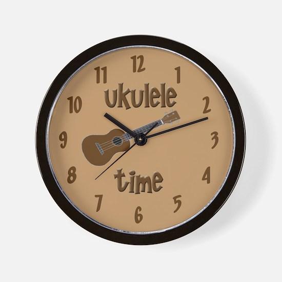 Funny ukulele uke Wall Clock