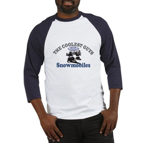 Coolest Guys Snowmobile Baseball Jersey