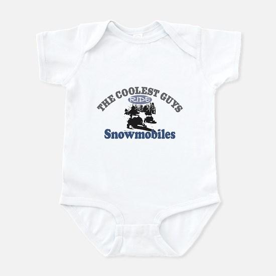 Coolest Guys Snowmobile Infant Bodysuit