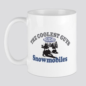 Coolest Guys Snowmobile Mug
