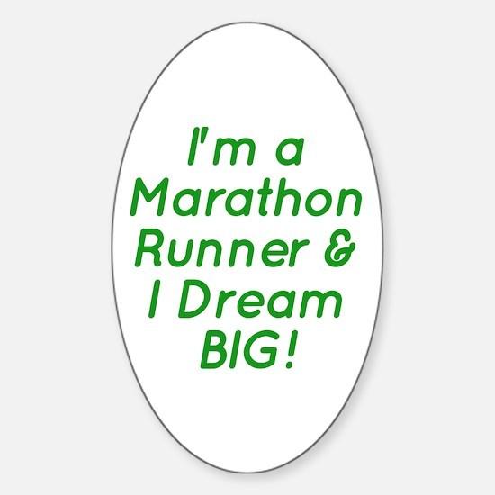 Marathon Runner Decal