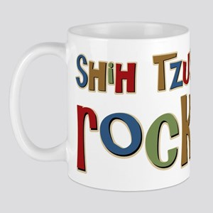 Shih Tzus Rock Dog Owner lover Mug