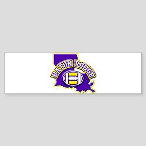 Baton Rouge Football Bumper Sticker