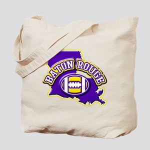 Baton Rouge Football Tote Bag