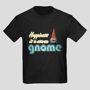 A WARM GNOME Kids Dark T-Shirt