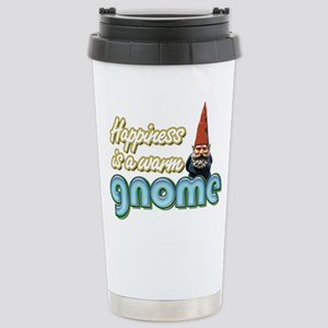 A WARM GNOME Stainless Steel Travel Mug