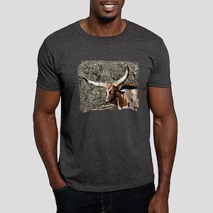 Spotted Watusi Bull Dark T-Shirt