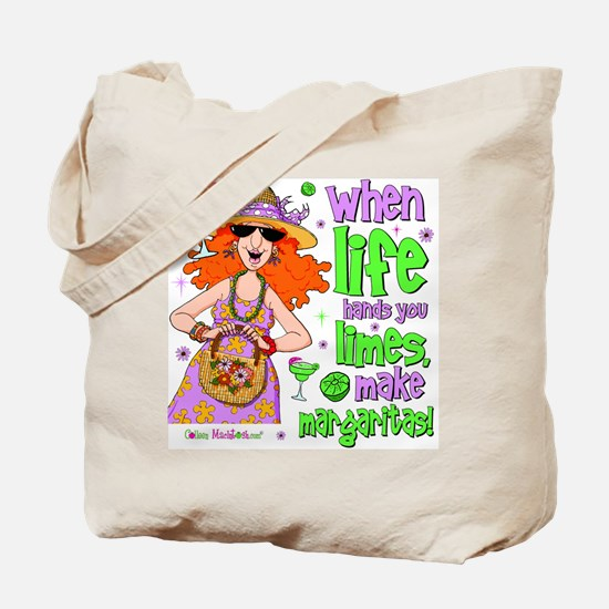 When Life Hands You Limes Tote Bag