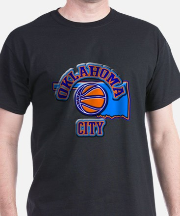 Oklahoma City Basketball T-Shirt