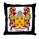 Fonseca Family Crest Throw Pillow