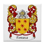 Fonseca Family Crest Tile Coaster