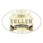 Property of Edward Cullen Oval Sticker