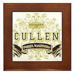 Property of Edward Cullen Framed Tile