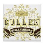 Property of Edward Cullen Tile Coaster