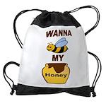 BEE MY HONEY Drawstring Bag