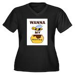 BEE MY HONEY Plus Size T-Shirt